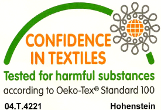 confidence in textile